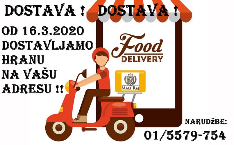 Obavijet – Dostava hrane na vašu adresu